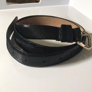 NEVER WORN Ann Taylor leather belt (s)